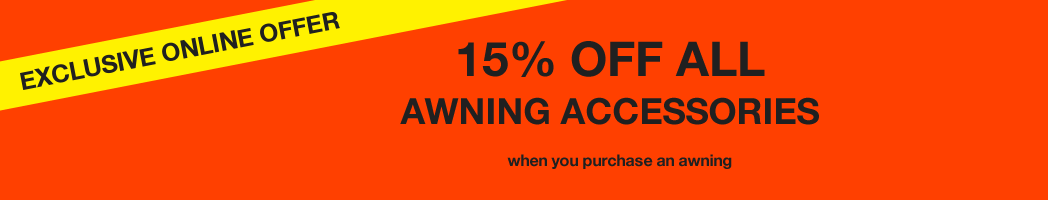 15% Off Awning Accessories