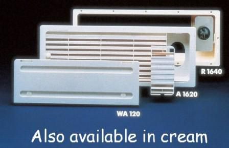 DOMETIC A1620 FRIDGE VENT SYSTEM - WINTER COVERS - CREAM
