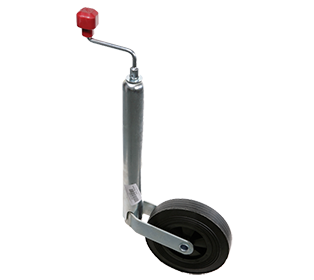 JOCKEY WHEEL ASSEMBLY - 48MM - SOLID WHEEL