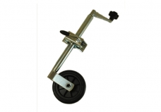 JOCKEY WHEEL ASSEMBLY - 35MM - SOLID WHEEL