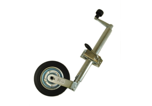 JOCKEY WHEEL ASSEMBLY - 42MM - SOLID WHEEL