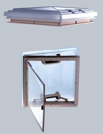MPK ROOFLIGHT ASSEMBLY 400x400mm (WHITE)