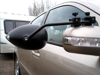 TWIN PACK MILENCO AERO TOWING MIRROR - FLAT