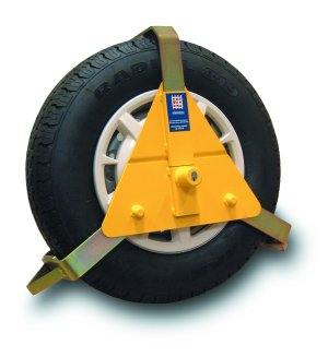 "STRONGHOLD WHEELCLAMP 10""/14"""