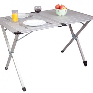 PRESTIGE ALUMINIUM SLATTED TABLE
