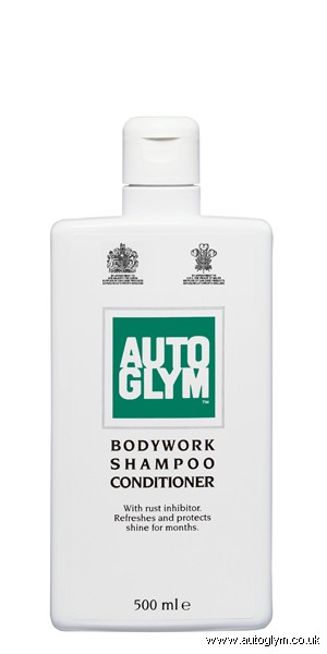 AUTOGLYM BODYWORK SHAMPOO & CONDITIONER 500ML