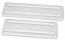 DOMETIC A1620 FRIDGE VENT SYSTEM - WINTER COVERS - WHITE