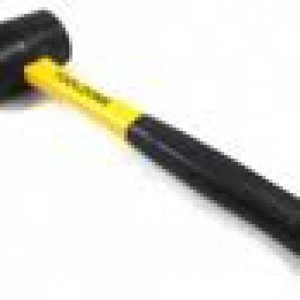 RUBBER MALLET WITH STEEL SHAFT